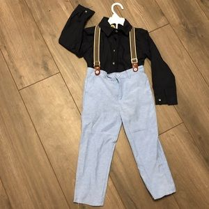 Suspenders Outfit